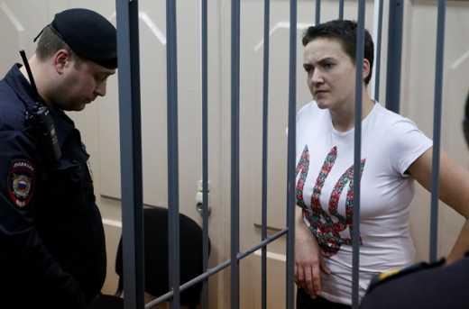 Надежда Савченко уже дважды впадала в предкомовое состояние