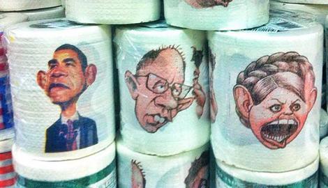 О какой русской нации можно говорить, когда на фоне экономического краха страны россияне радуются туалетной бумаги с изображением Порошенко