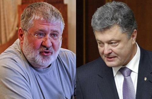 Порошенко наказал опального олигарха Коломойского вынеся ему выговор