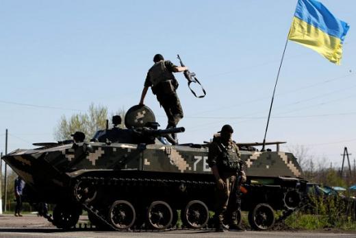 Уничтожен штаб и танк террористических войск, – результат удачной операция бойцов ВСУ в Широкино