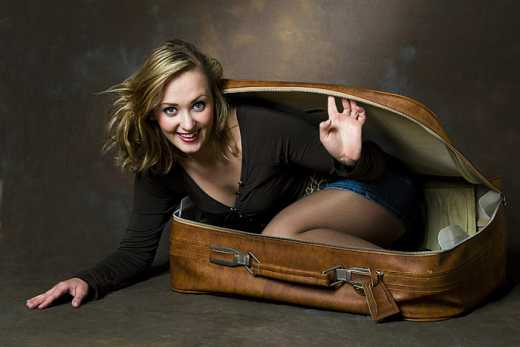 Россияне начали выезжать в ЕС прячась в чемоданах
