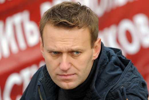 """Медаль за """"освобождение Крыма"""" для российского оппозиционера Алексея Навального"""