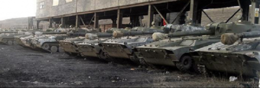 Боевики показали спрятанные САУ, которые ожидают «конца перемирия» (ФОТО)