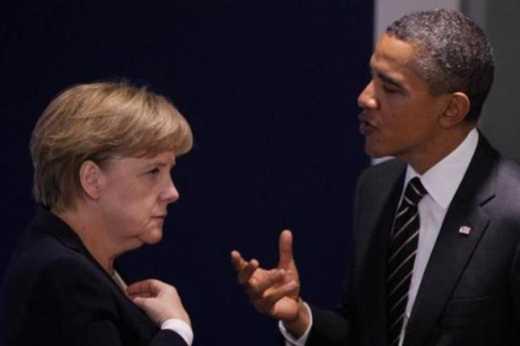 Лидеры Германии и США договорились не ослаблять санкции против России