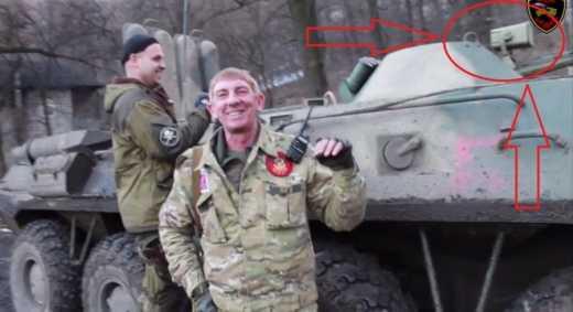 Российские военные на столько суровые, что дорисовывают на свою технику полосы, чтобы выдать ее за трофейную украинскую