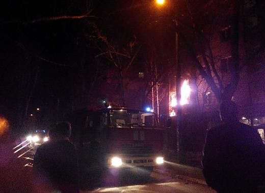 В Одессе снова произошел взрыв, в результате горит жилой дом