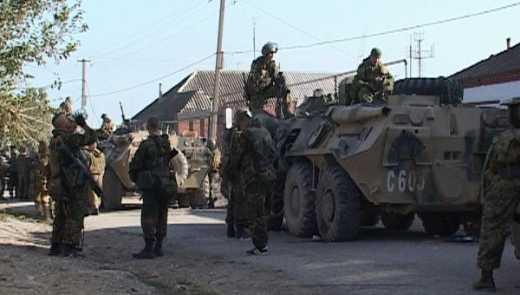 Ополченцы Дагестана вступили в бой с правительственными войсками РФ