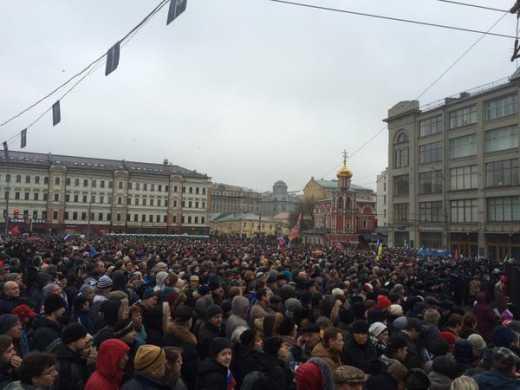 Марш памяти Бориса Немцова online