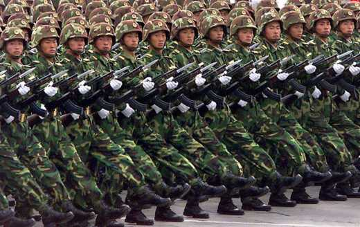 В мае войска КНР будут маршировать центром Москвы, – Министерство обороны Китая