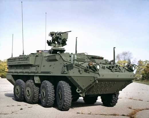 Американские войска уже в Украине: Во Львовской области заметили колонну броневиков «Страйкер»