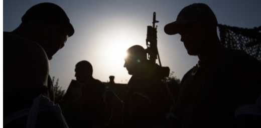 Неизвестные уничтожили группу спецназа ГРУ РФ на границе с Россией