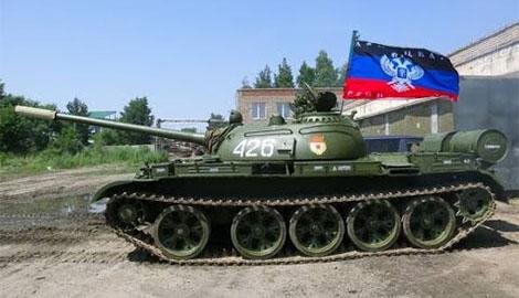 Свинья везде лужу найдет! «Вояки» из так называемого «ополчения» утопили российский танк(Фотофакт)