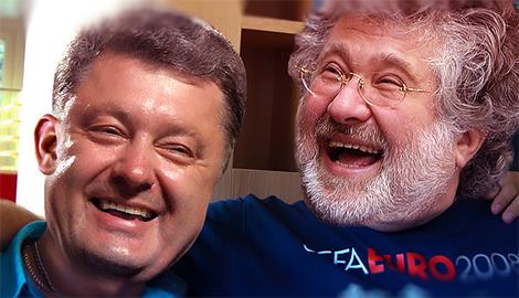В окружении Коломойского обвинили Порошенко в тайном сговоре с Путиным и начале войны против патриотов