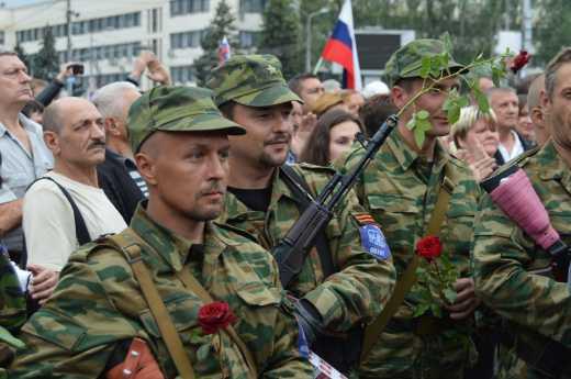 Гнилую натуру не спрячешь за красивыми словами: Вся суть «Новороссии» в одном фото