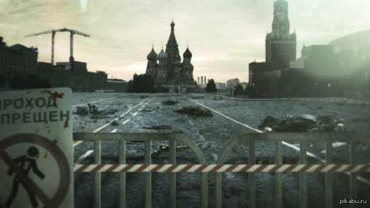 России достаточно недели, чтобы исчезнуть с карты в нынешних границах