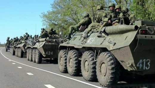 Россия готовится к войне: На Донбасс снова начали идти колонны военной техники