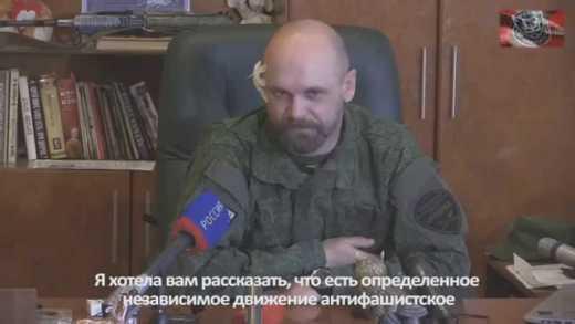 """Лидер террористической группировки """"Призрак"""" Алексей Мозговой заявил, что в Украине нет фашизма"""