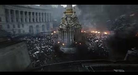 Кадры с Майдана появятся в новом Голливудском фильме (ВИДЕО)