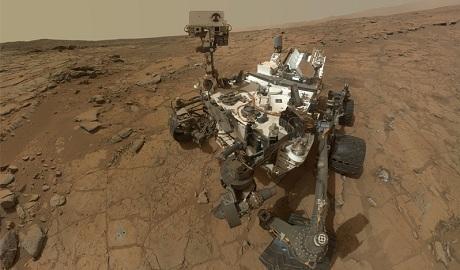 """Ученые обнаружили на Марсе """"ингредиенты жизни"""" ФОТО"""