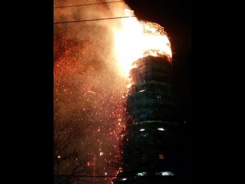 На иркутском аэродроме горел стратегический бомбардировщик российских ВКС (видео)