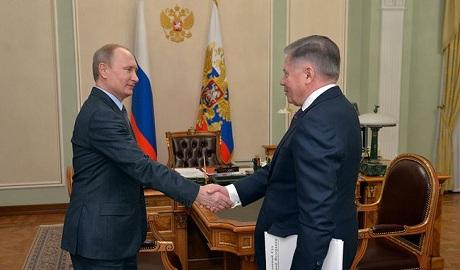«Я жив!» — Путин снова явился перед камерами ФОТО