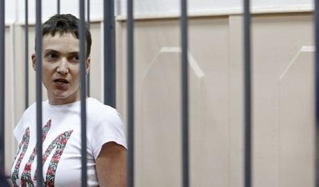 Что Надежда Савченко сказала Путину