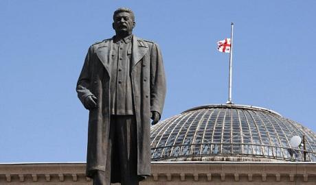 Российские коммунисты хотят восстановить памятник Сталину в Грузии
