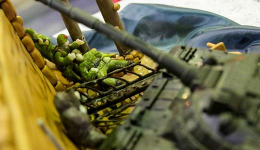 «Родина-мать», обгоревшие солдатские письма и парад военной техники, — В России представили торты к 70-летию Победы