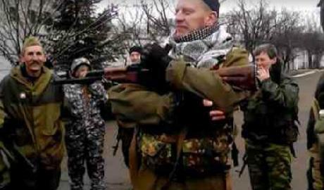 Российская военная разведка уже не скрывает своего присутствия на территории Украины ВИДЕОфакт