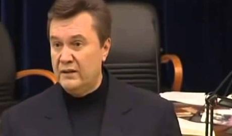 Экс-президент Янукович попал в психушку ФОТО