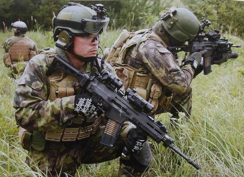 Первый шаг Украинских войск к стандартам НАТО