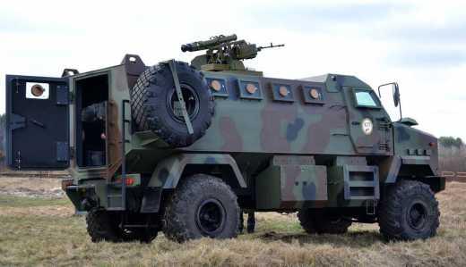 Броневики «Кровавый пастор», могут встать на вооружение Национальной гвардии Украины