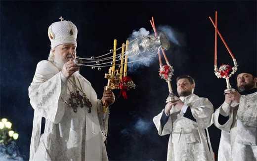 Потухшие свечи пртриарха Кирила и знак Апокалепсиса