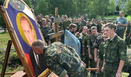 Православные Санкт-Петербурга предлагают канонизировать Путина