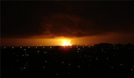 В Мариуполе прогремел мощный взрыв