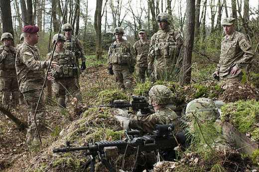 Как армейский спецназ США тренирует украинцев ФОТО