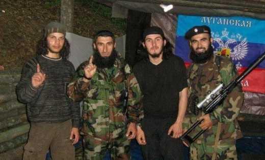 Чеченский спецназ прибыл на Донбасс «резать бошки» боевикам