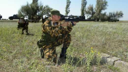 Правый сектор блокировали недавно призванные десантники, которым сказали, что ДУК собирается идти на Киев