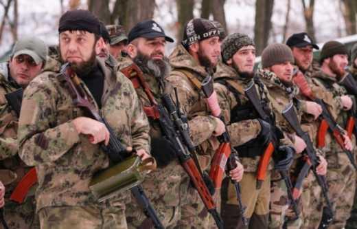 Нех*й шастать: Под Мариуполем чеченцы-укропи ликвидировали 20 кадыровцев