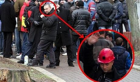 Встречай Киев теперь я шахтер: кто протестовал под Кабмином и Радой ФОТО