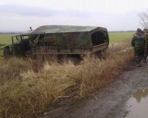 Около Счастья на фугасе подорвался грузовик с украинскими бойцами. Среди погибших — замначальника штаба АТО