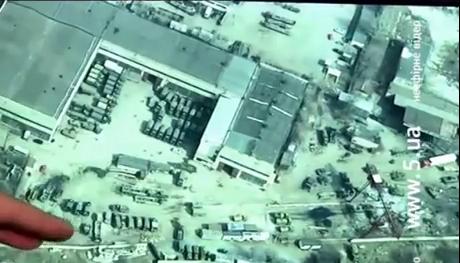 Съемка с беспилотника: разрушенный Донецк и нетронутая Донбасс-Арена (ВИДЕО)