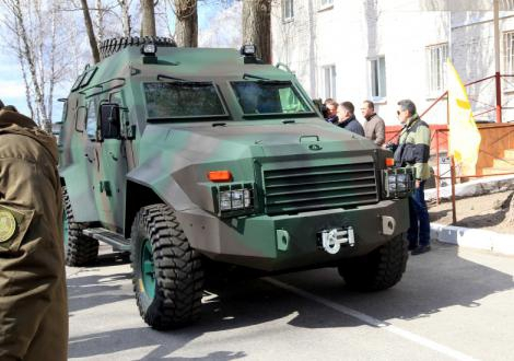 Барс-8 – еще один броневик на вооружении в ВСУ