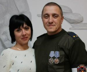 Жену расстрелянного «Бэтмена» наградили медалью «За возрождение казачества» (ФОТО)