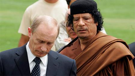 Путин косит под дурака, как когда-то Каддафи, чтобы напугать Запад. Также и кончит