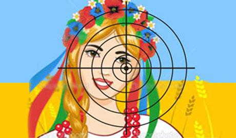 Учеников луганской школы заставляют стрелять по мишени с изображением девочки-украинки