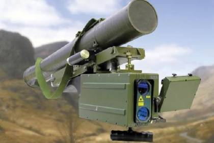 Украинский аналог Javelin без проблем попадает в лист А4, на расстоянии 5,5 км