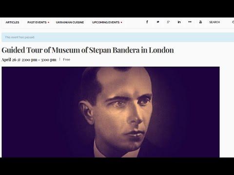 Грэма Филлипса вытолкали из музея Степана Бандеры в Лондоне ВИДЕО