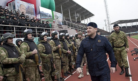 Кадыров начал формировать антипутинскую армию на Кавказе