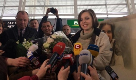 Чемпионка мира по шахматам Мария Музычук прибыла во Львов ФОТО